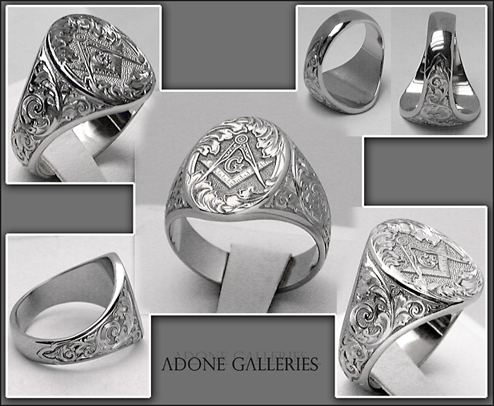 hand engraved ring