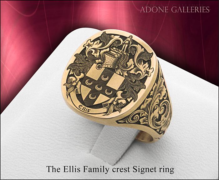 14K Gold engraving