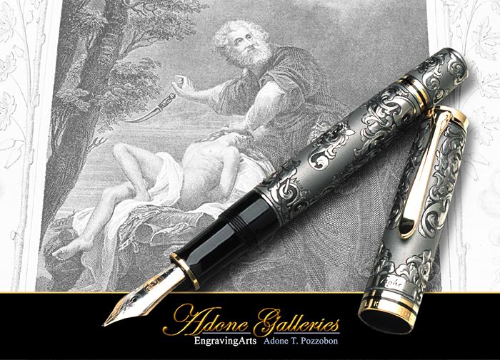 engraved fine art Tighe pen