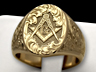 masonic signet ring